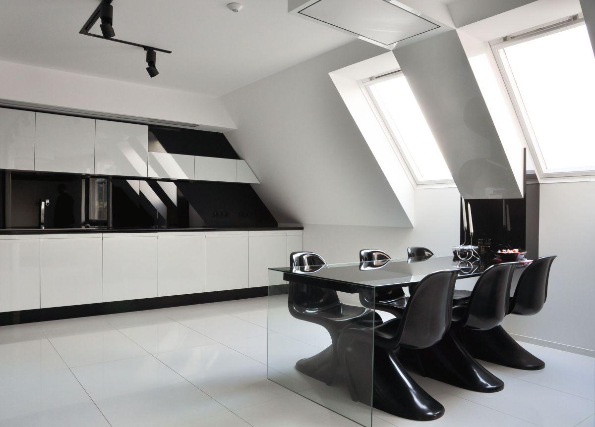 Kitchen, Dining Space, Apartment Interior by Jovo Bozhinovski