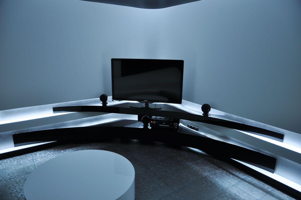 Lighting, Living Space, Apartment Interior by Jovo Bozhinovski