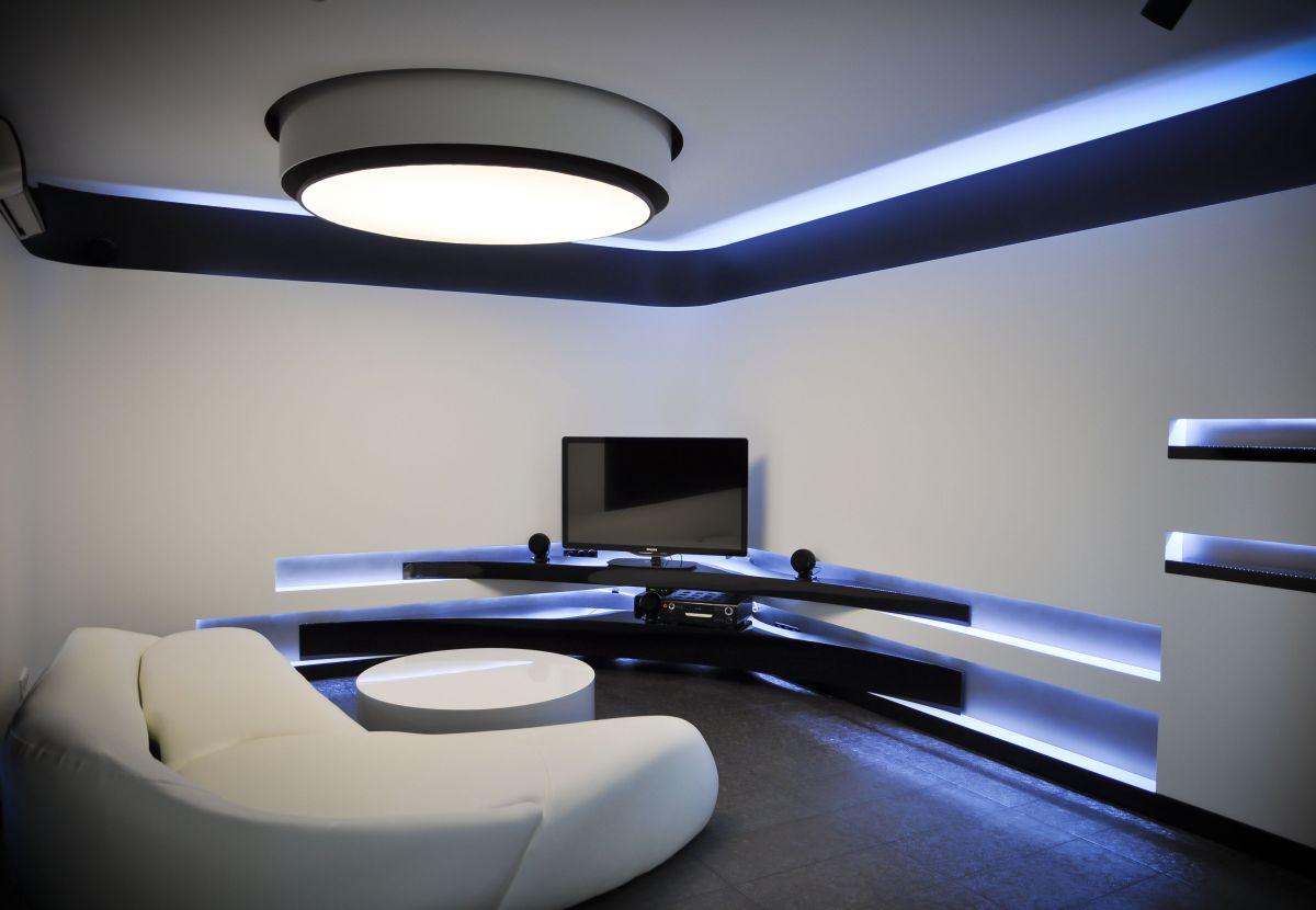 Modern Living Space, Apartment Interior by Jovo Bozhinovski