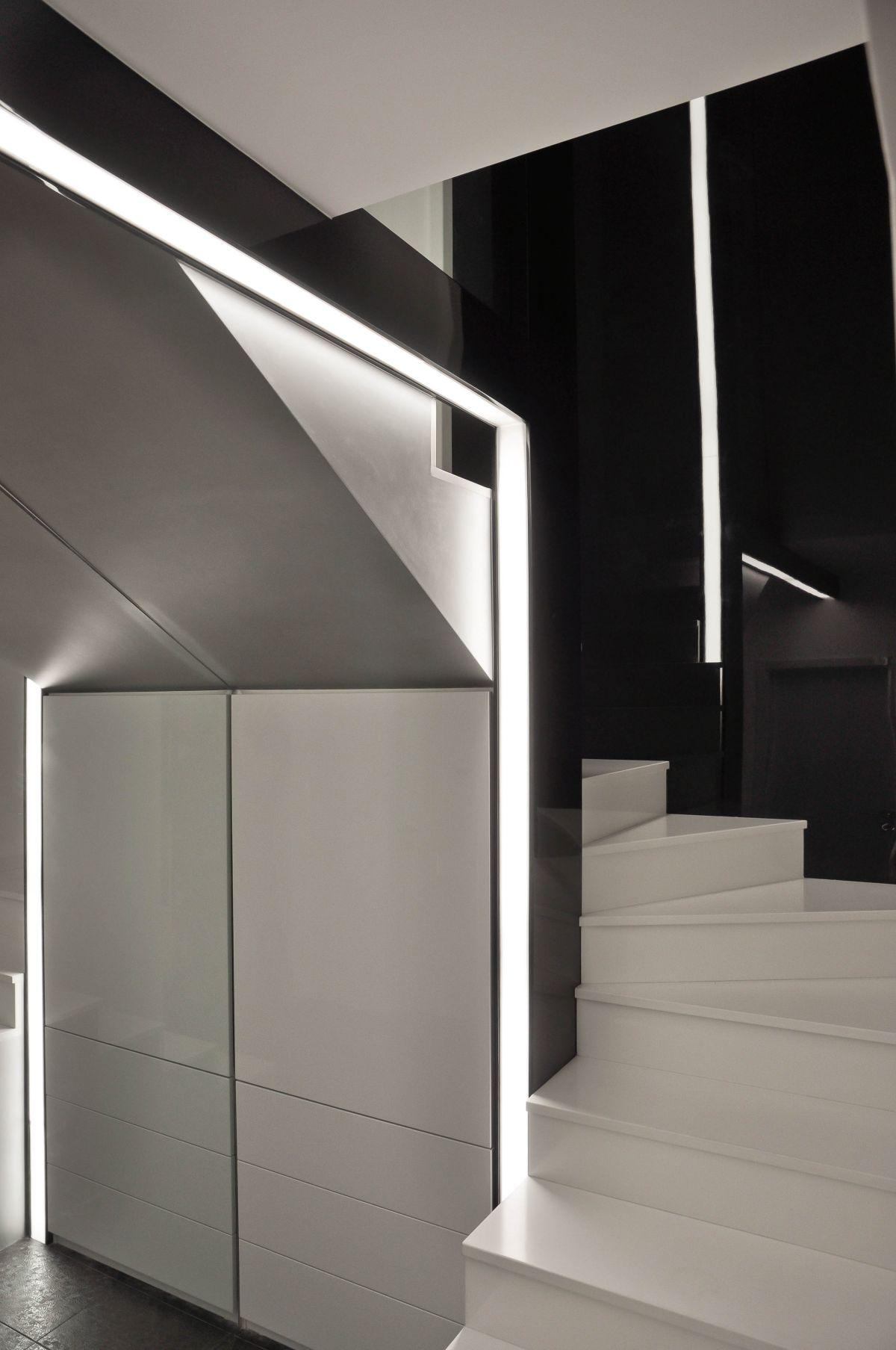Staircase, Apartment Interior by Jovo Bozhinovski