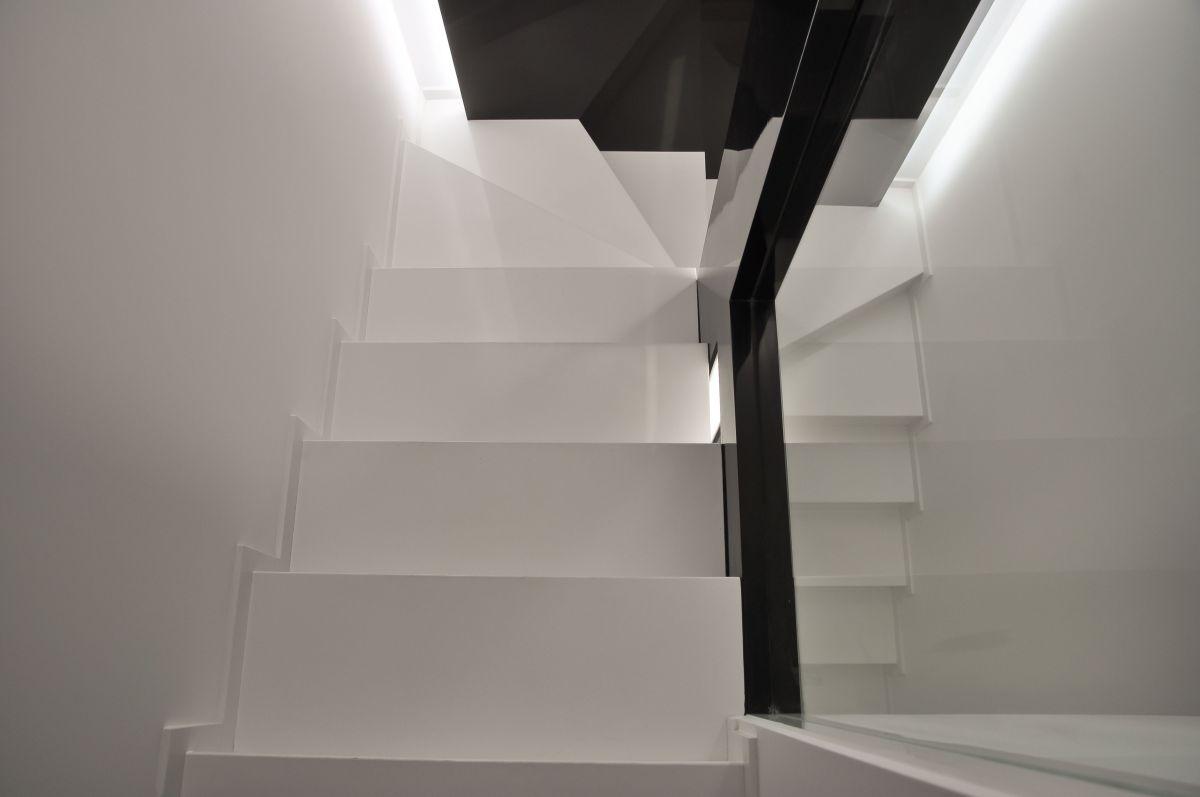 Stairs, Apartment Interior by Jovo Bozhinovski
