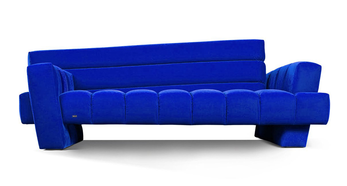 Confucius Sofa by Alexander Nettesheim for Bretz