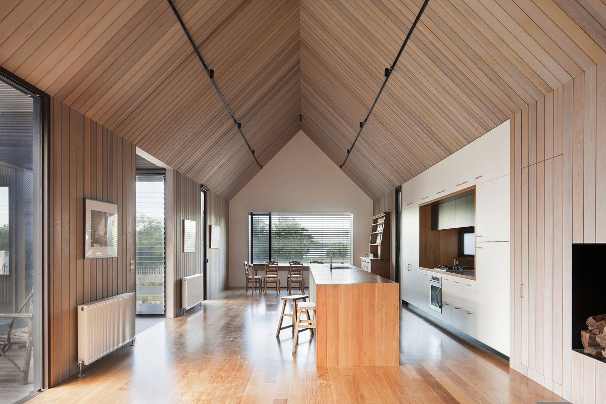 Open Plan Living Space, Seaview House in Barwon Heads, Australia by Jackson Clements Burrows