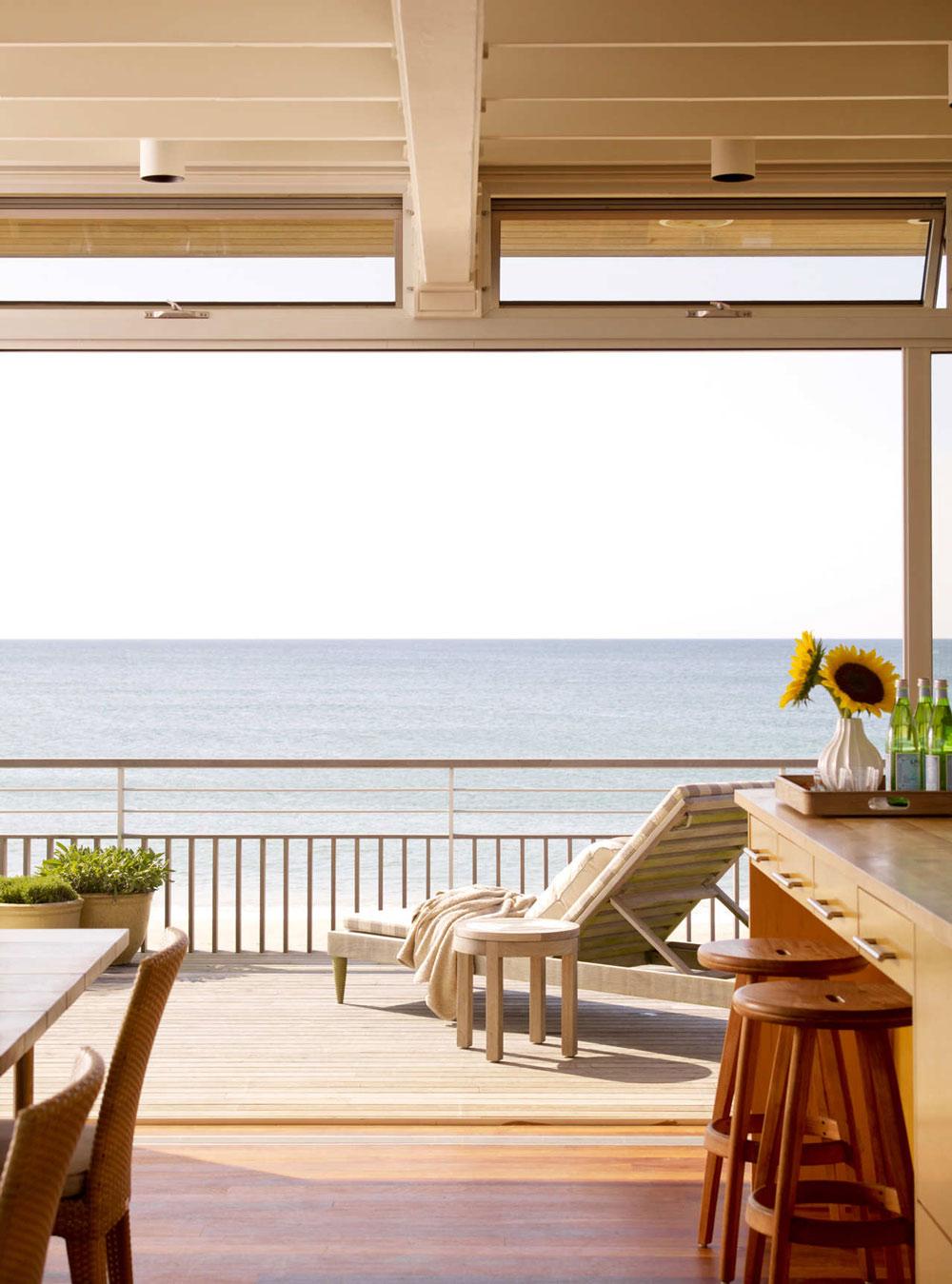 Balcony, Ocean Views, Surfside House in Bridgehampton, New York by Stelle Architects