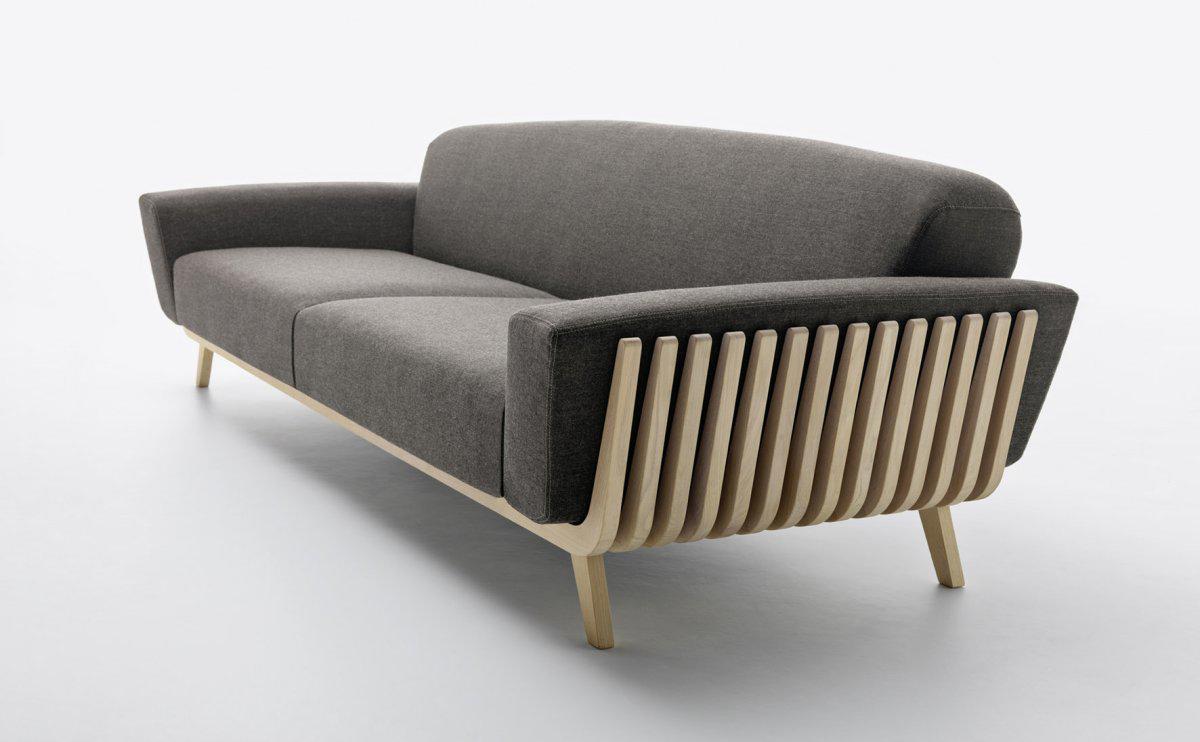 Hamper sofa by Riva and Montanelli for Passoni Nature
