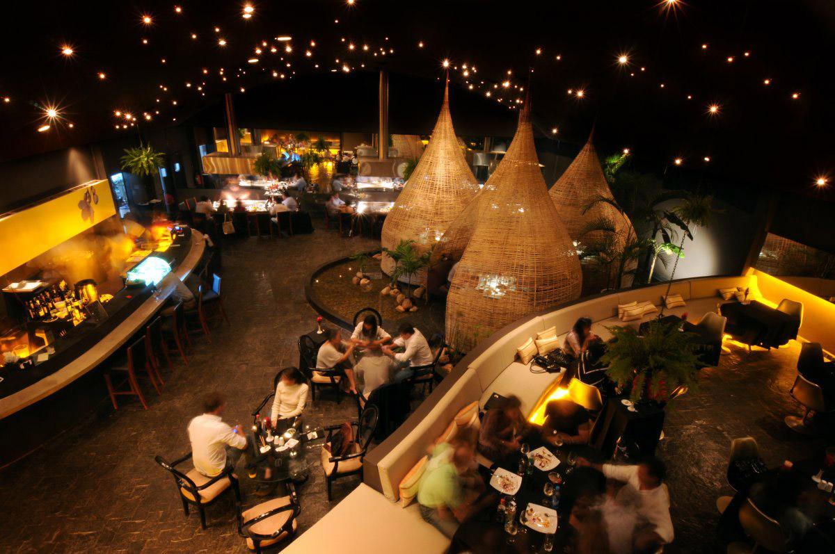 Elevate Lounge, Jardín del Asia Restaurant, Santa Cruz de la Sierra, Bolivia