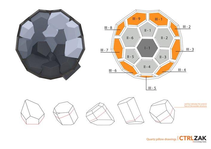 Three-Dimensional Crystalloid Armchair