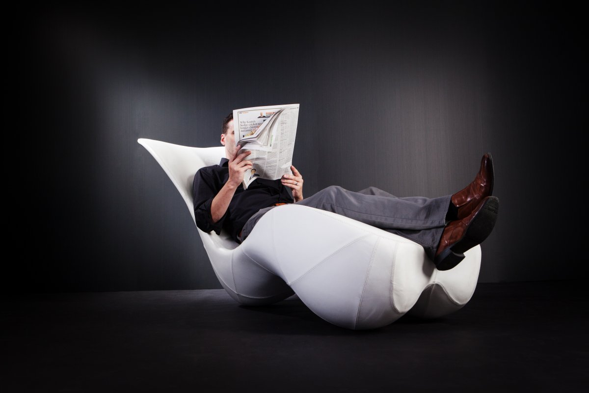 Sculpture and Seating Fuse: Bodice Rocker