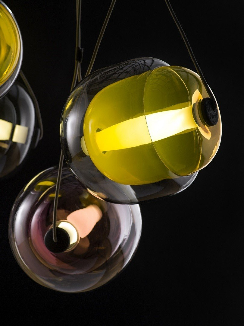 Exquisite Capsula Pendant Light by Lucie Koldova