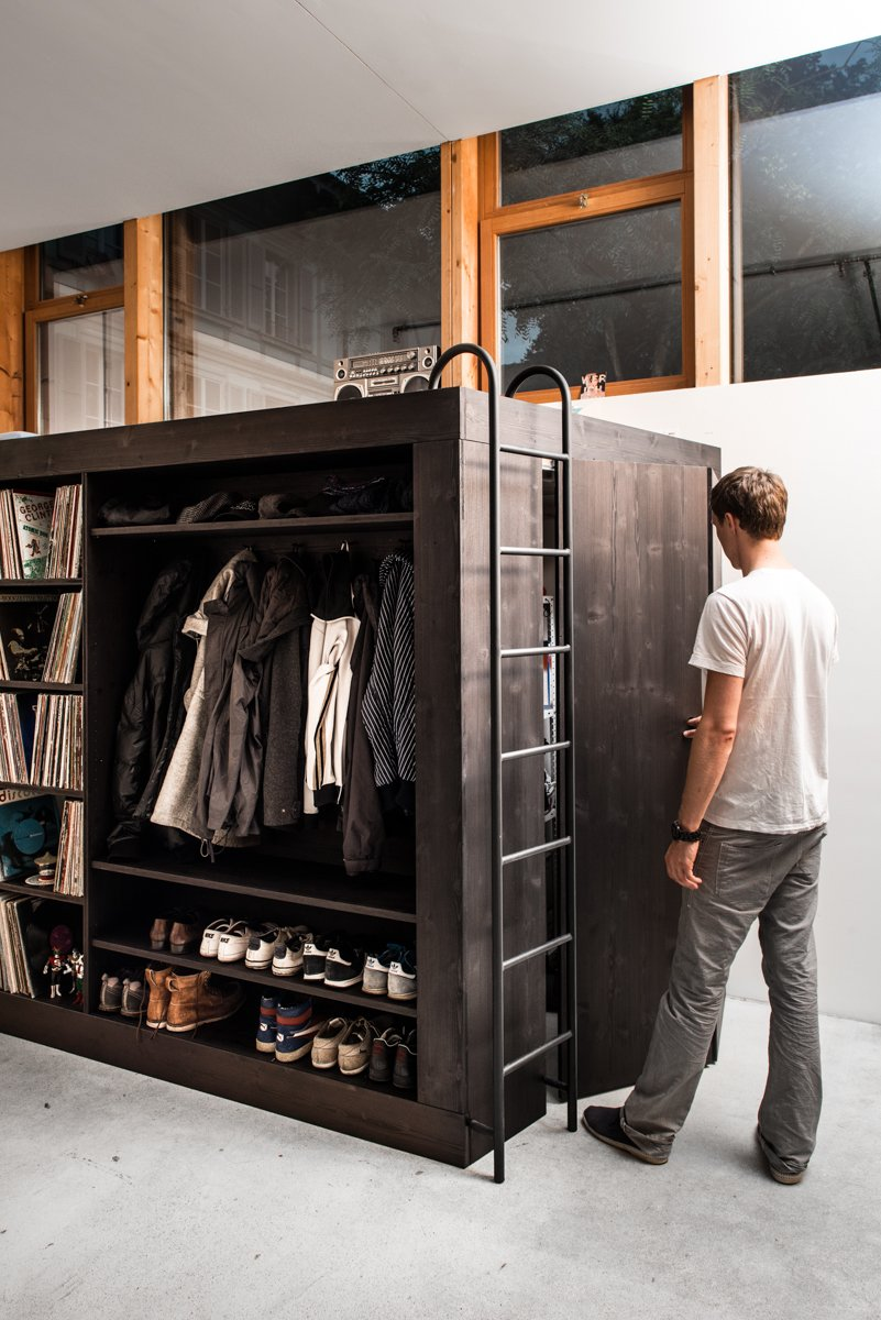 Ladder, Storage Solution for Small Apartments