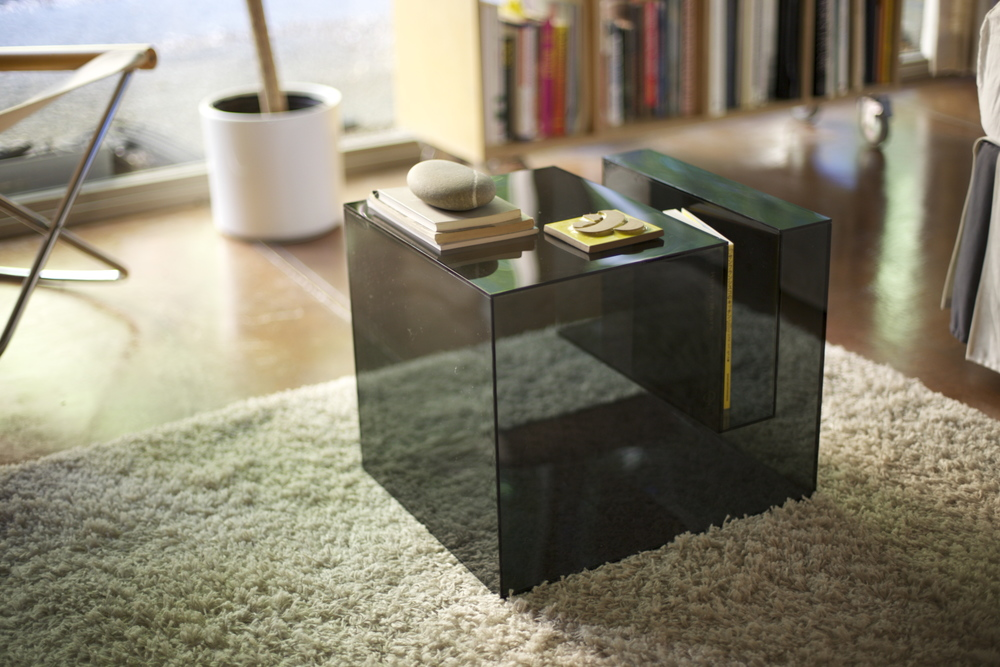Charming Transparent Side Table