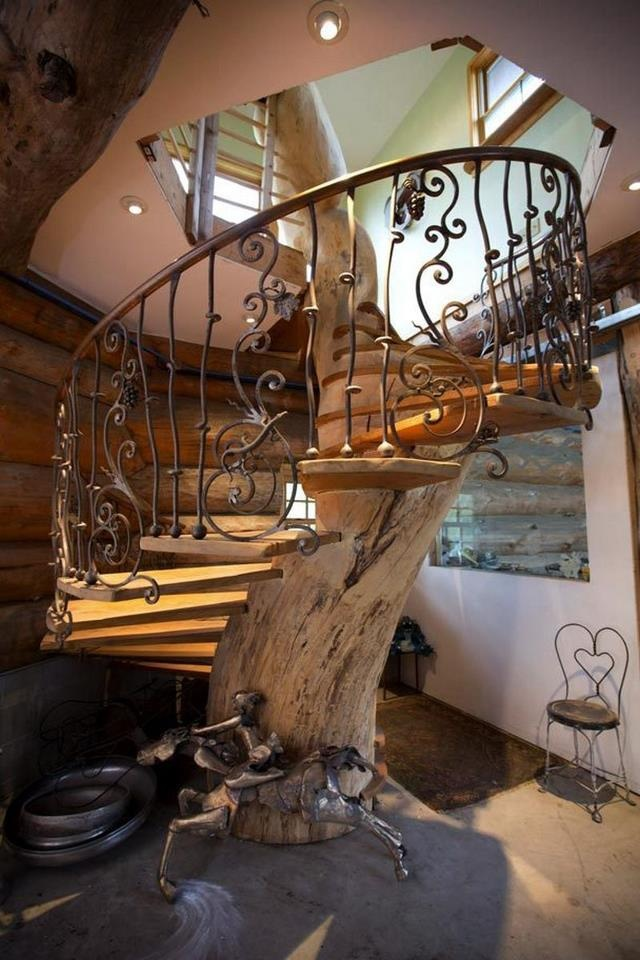 Spiral Tree Staircase