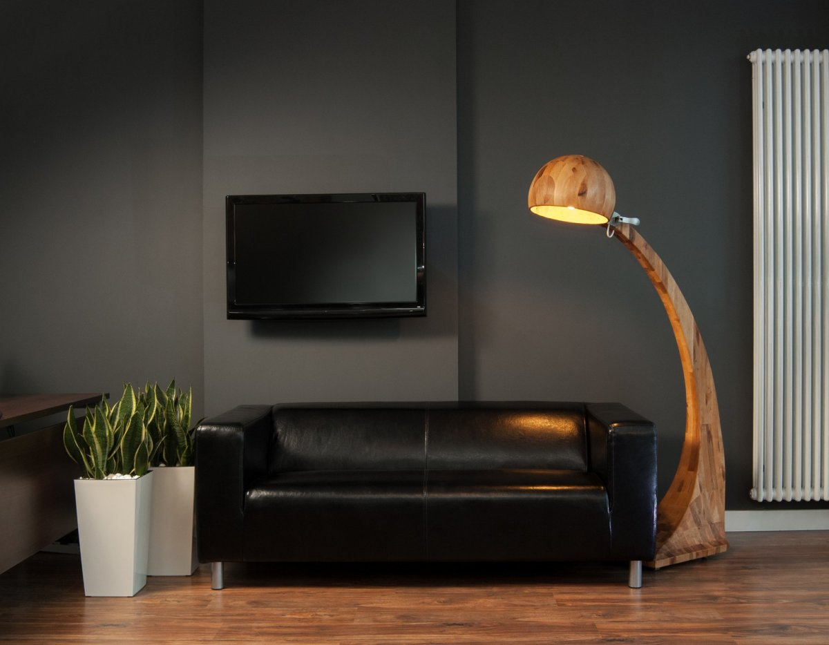 Woobia Wooden Floor Lamp