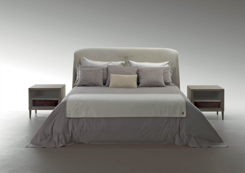 Bed & Side Tables, Bentley Home Furniture Collection