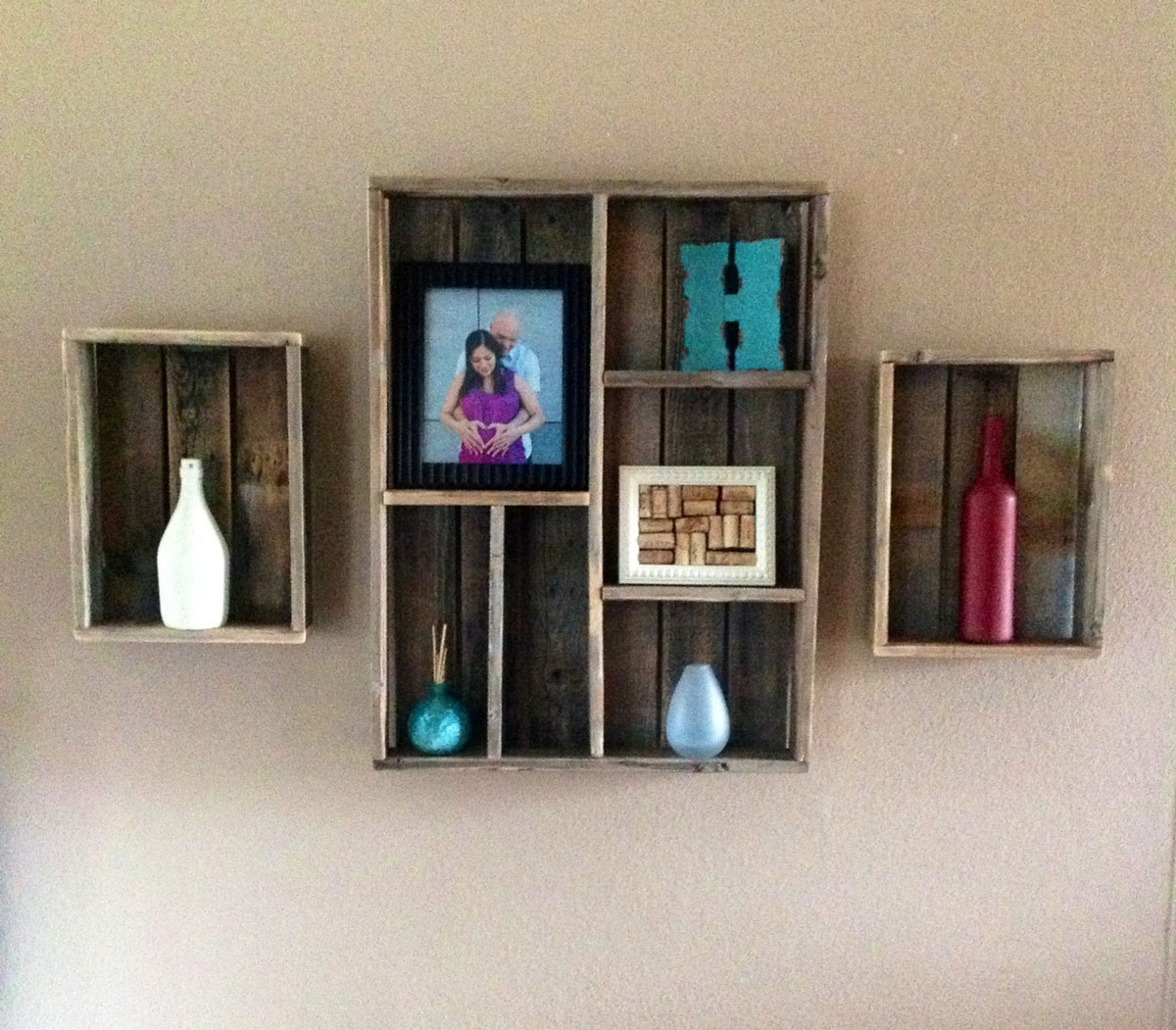 Reclaimed Wood Shadow Box