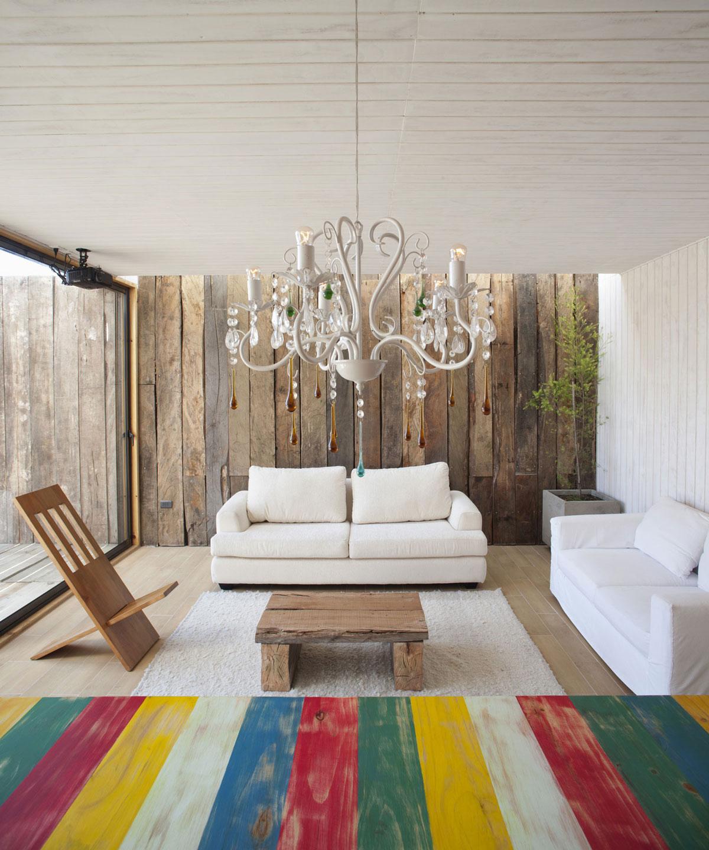 Rustic & Modern Living Space