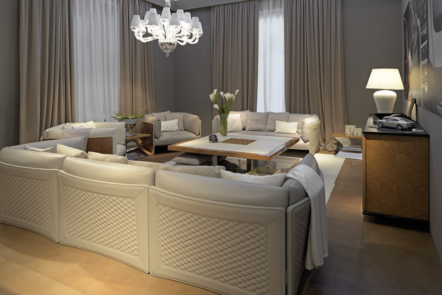 Sofas, Chandelier, Coffee Table, Bentley Home Furniture Collection