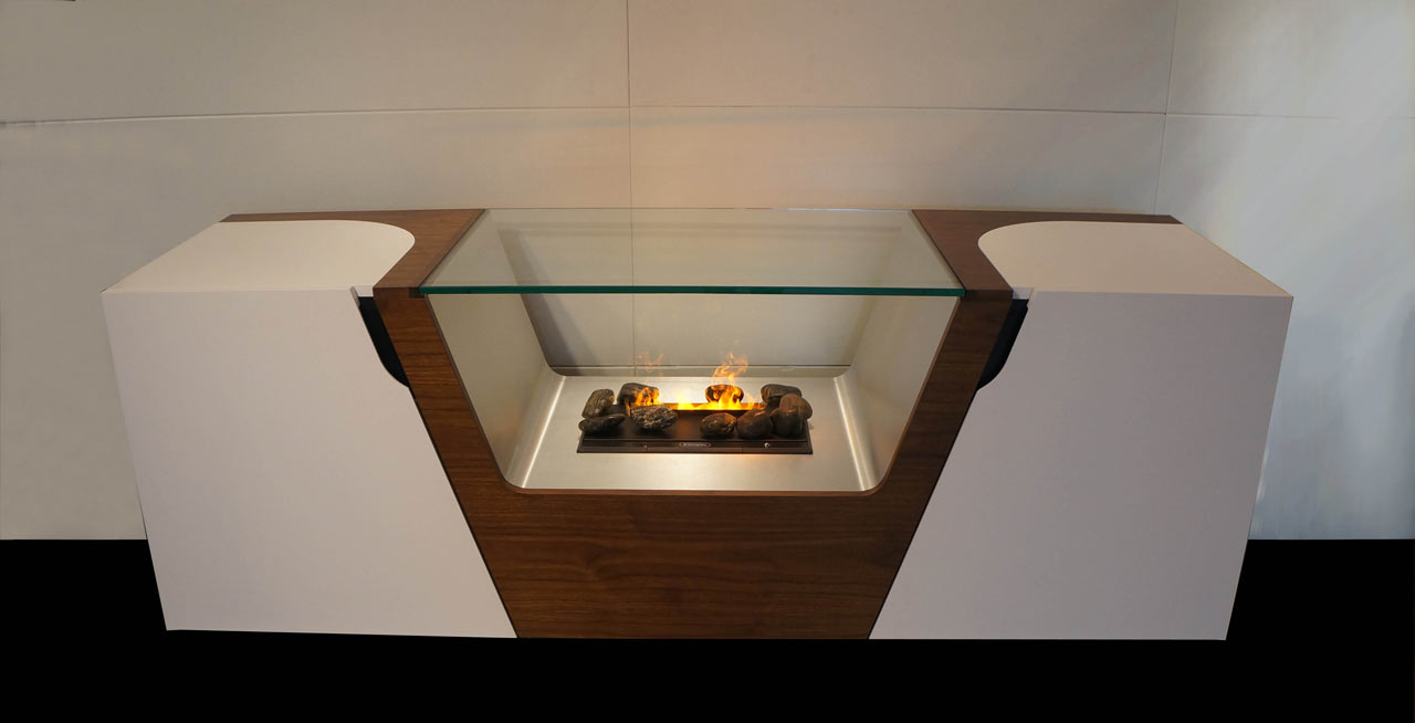 Fireplace Storage Units by Davide Tonizzo