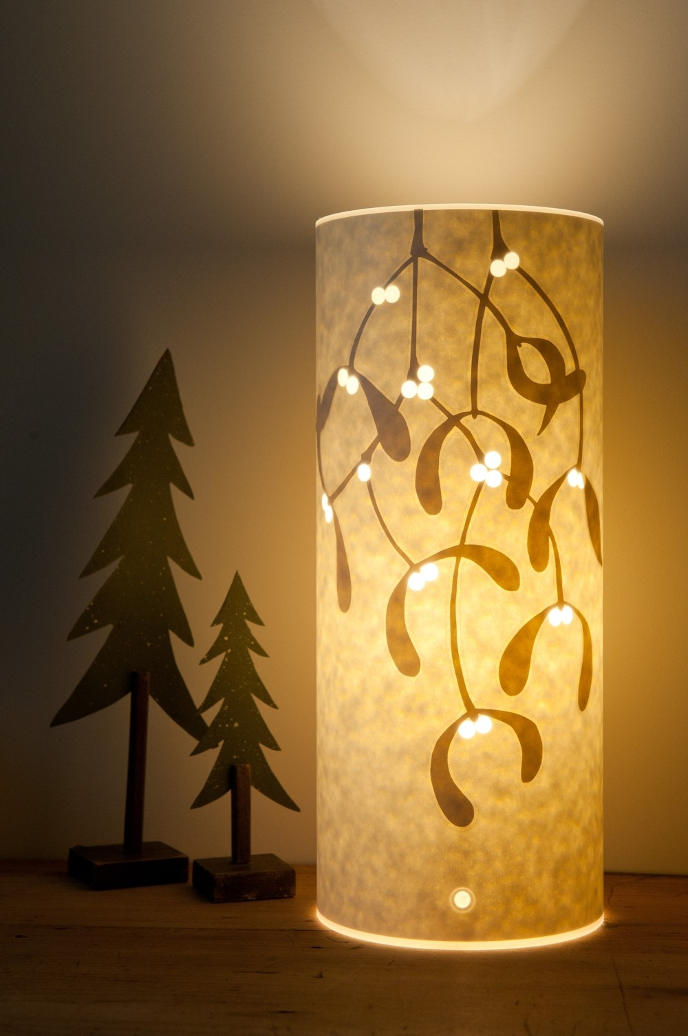 Mistletoe Lamp