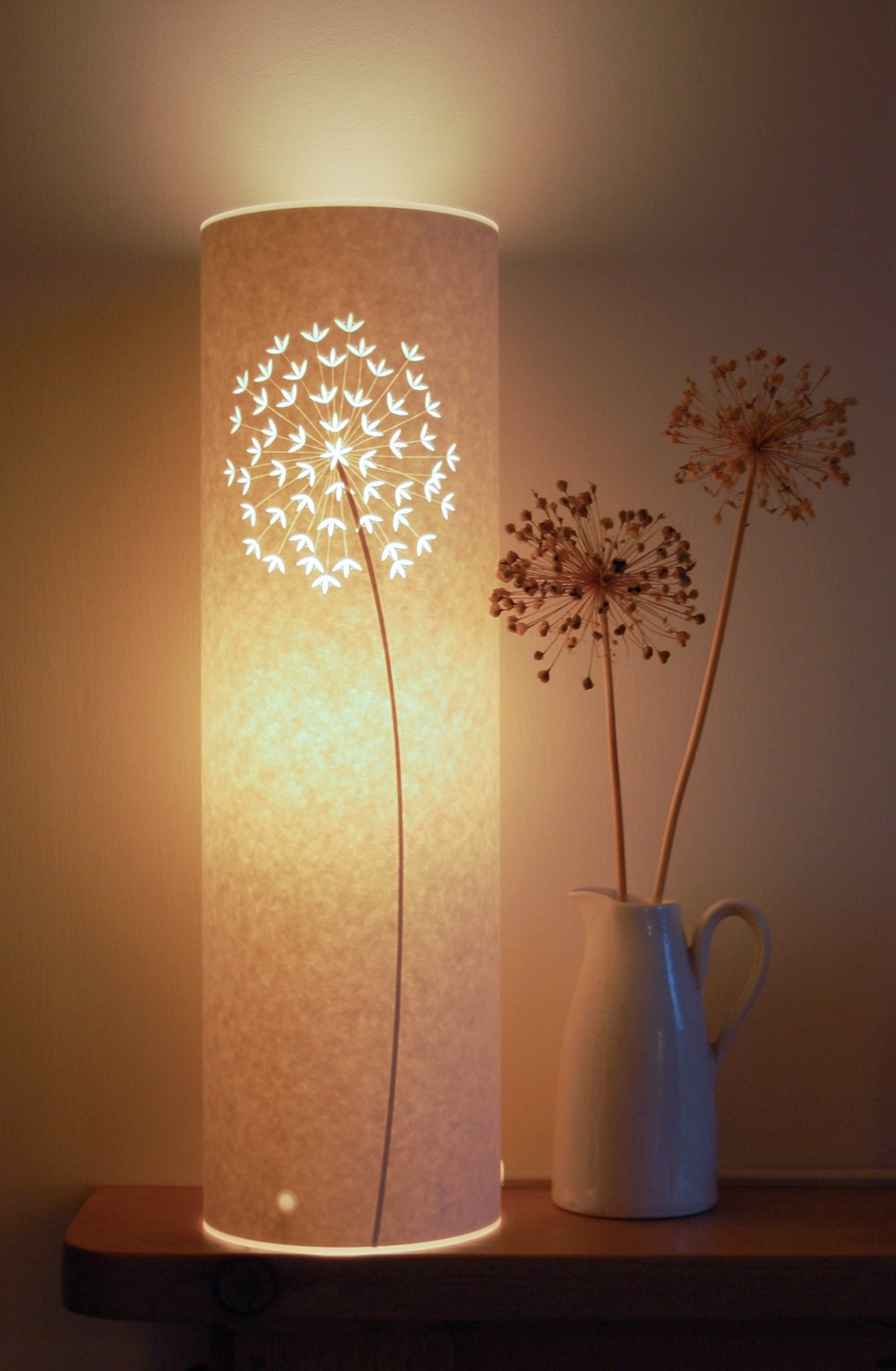 Tall Allium Lamp