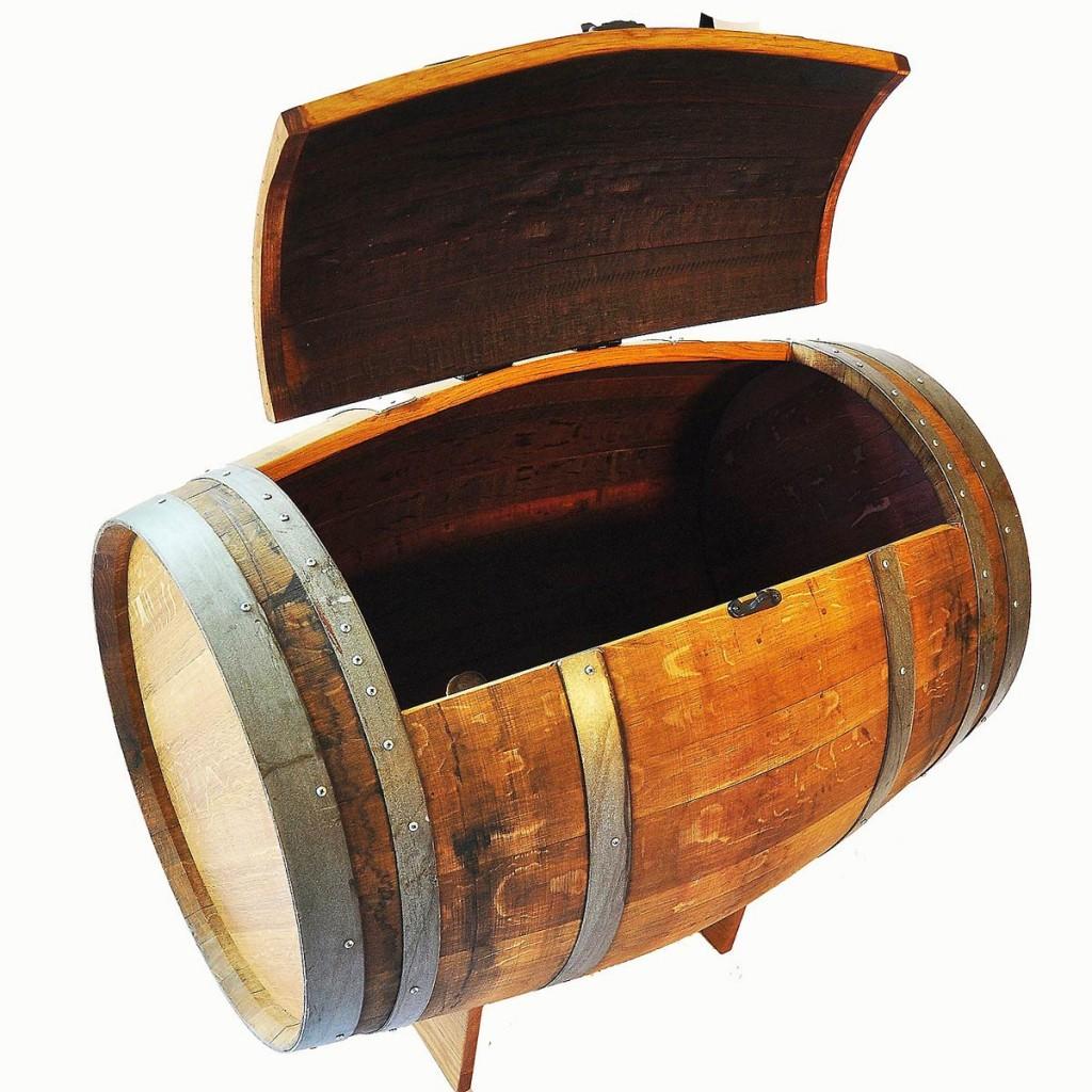 Wine Barrel Ice Chest