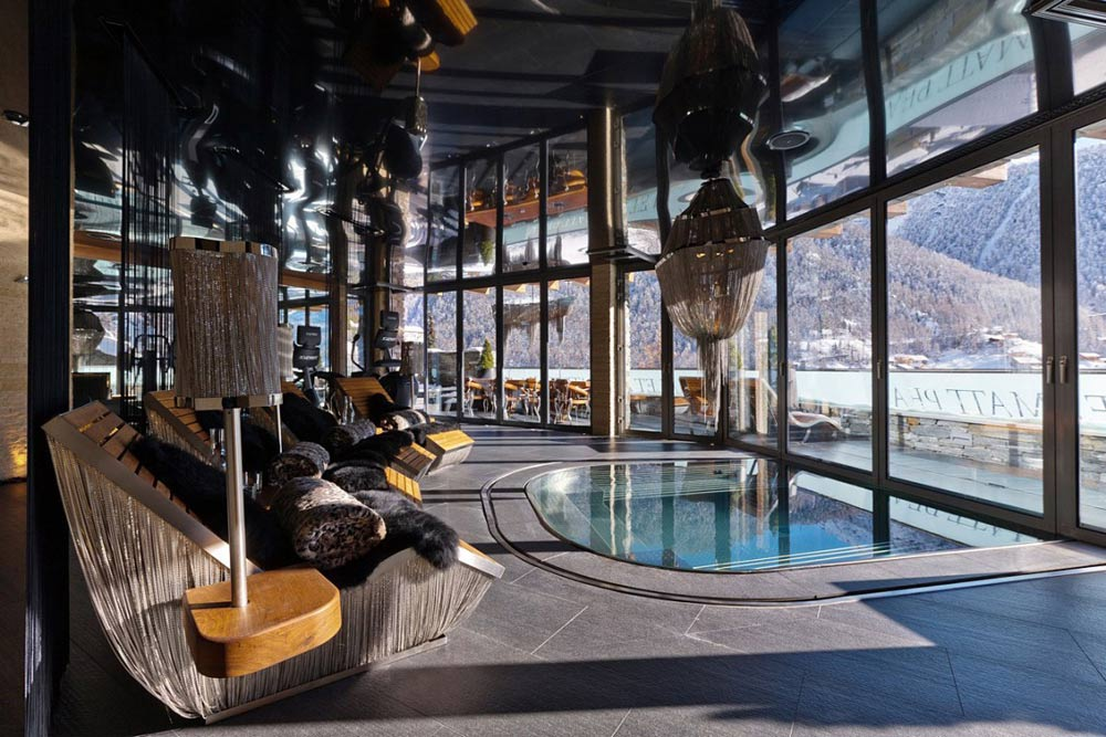 Pool Room, Luxury Boutique Chalet in Zermatt