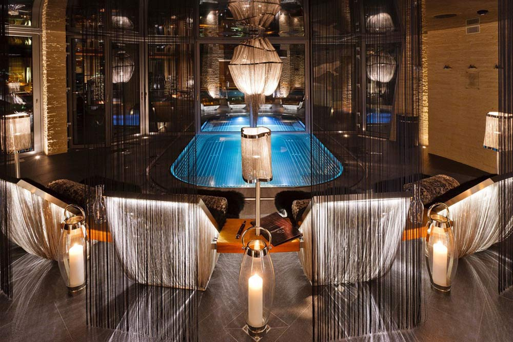 Indoor Pool, Luxury Boutique Chalet in Zermatt