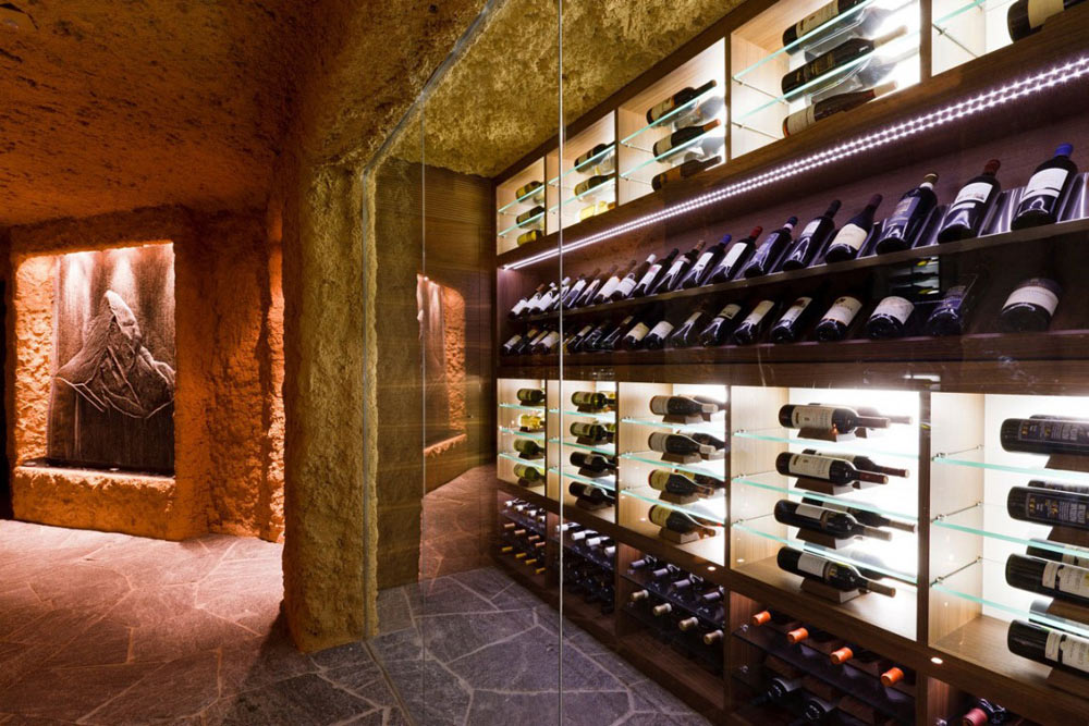 Wine Store, Luxury Boutique Chalet in Zermatt