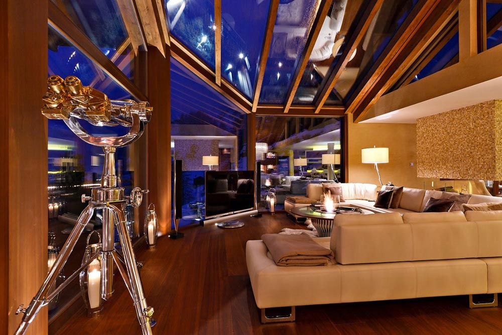 Living Space, Luxury Boutique Chalet in Zermatt