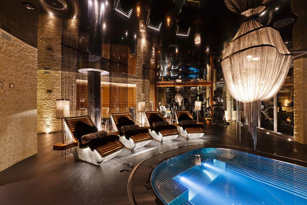 Pool, Luxury Boutique Chalet in Zermatt
