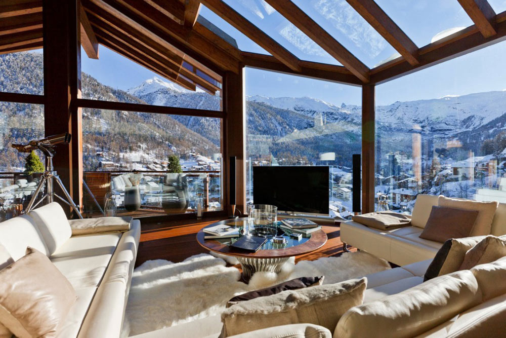 Mountain Views, Luxury Boutique Chalet in Zermatt