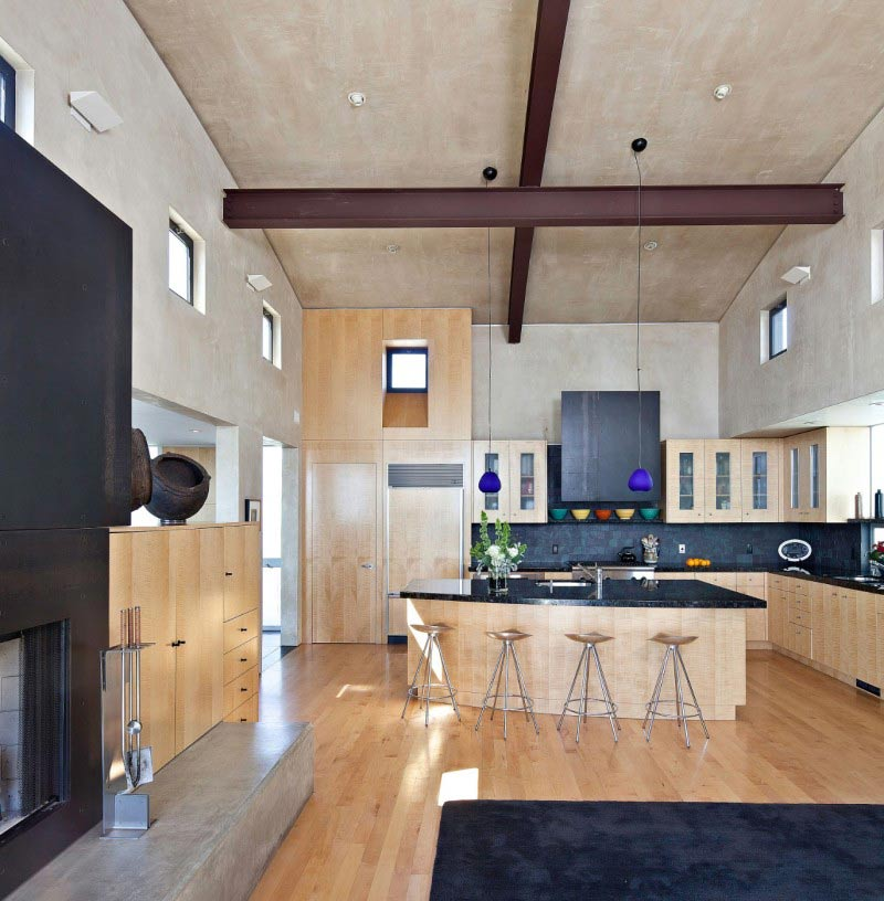 Kitchen, Modern Home in Berkeley, California