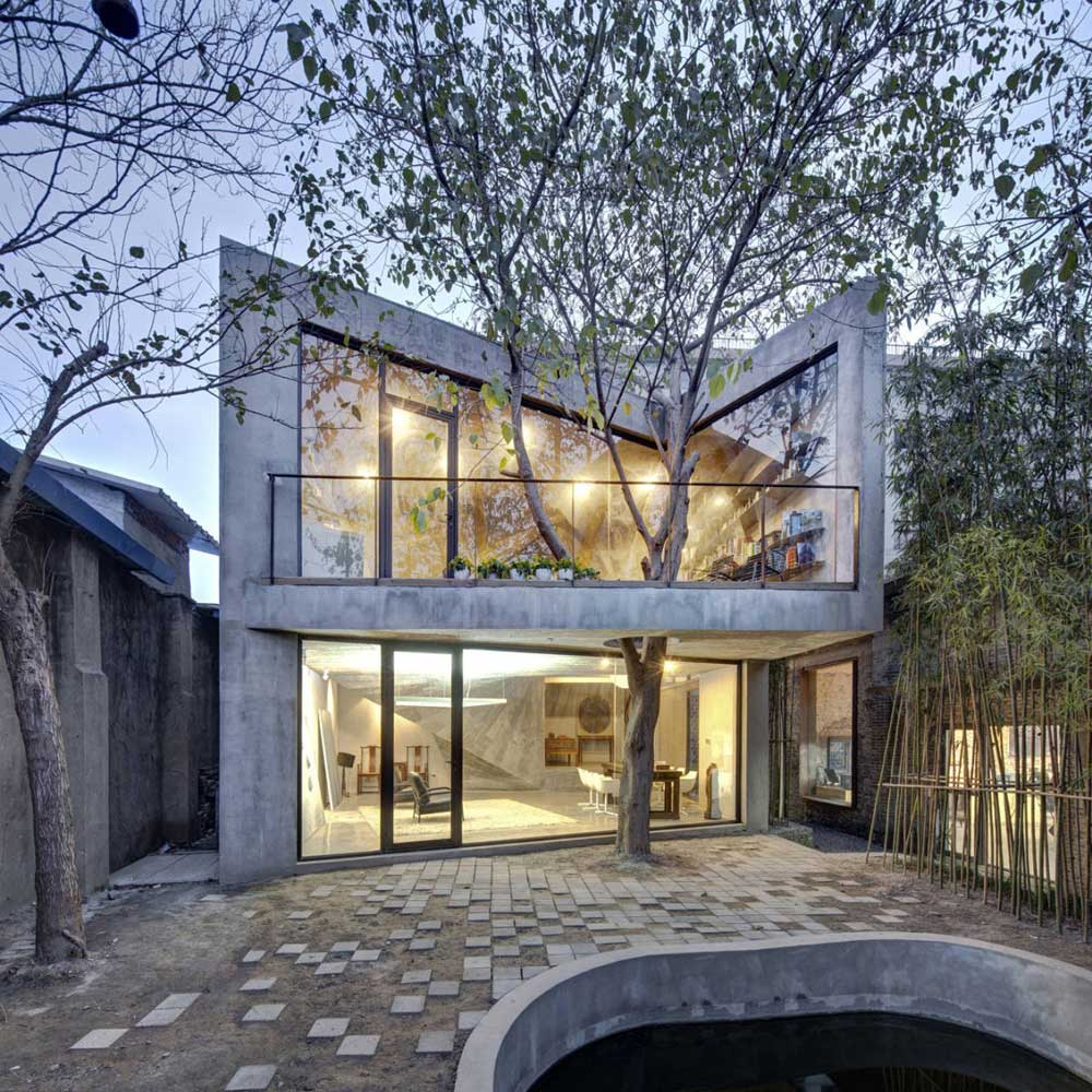 Contemporary Tea House in Yangpu District, Shanghai, China