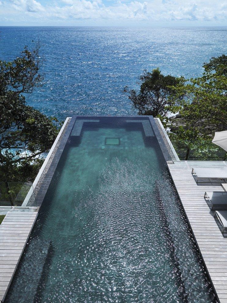Cantilevered Pool, Villa Amanzi, Phuket,Thailand