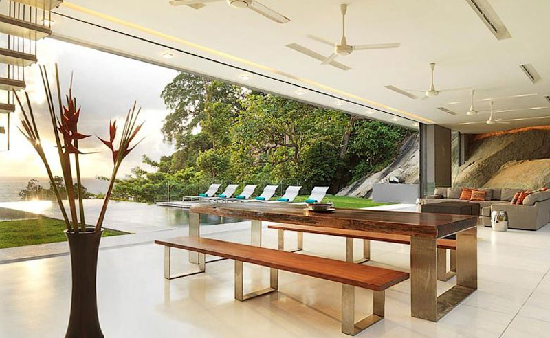 Dining Table, Villa Amanzi, Phuket,Thailand