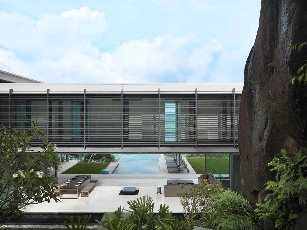 Architecture, Villa Amanzi, Phuket,Thailand