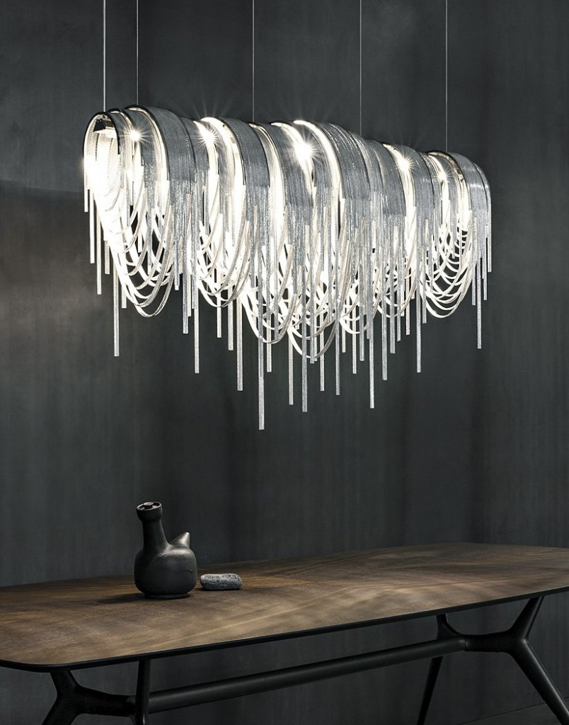 Elegant and Modern Suspension LED Light