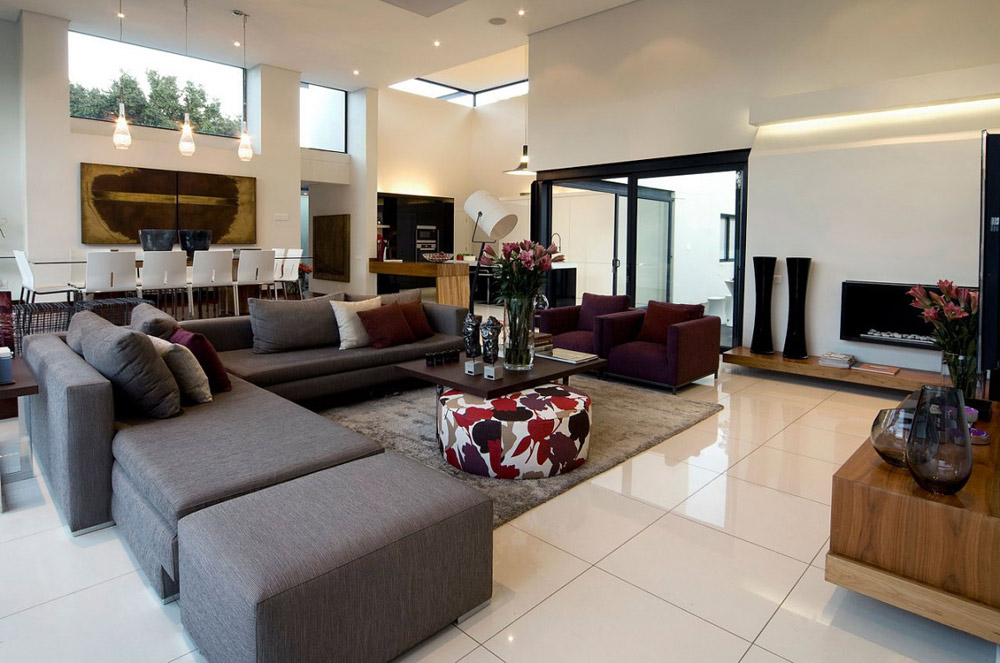 Living Space, Exquisite Modern Home in Cape Town