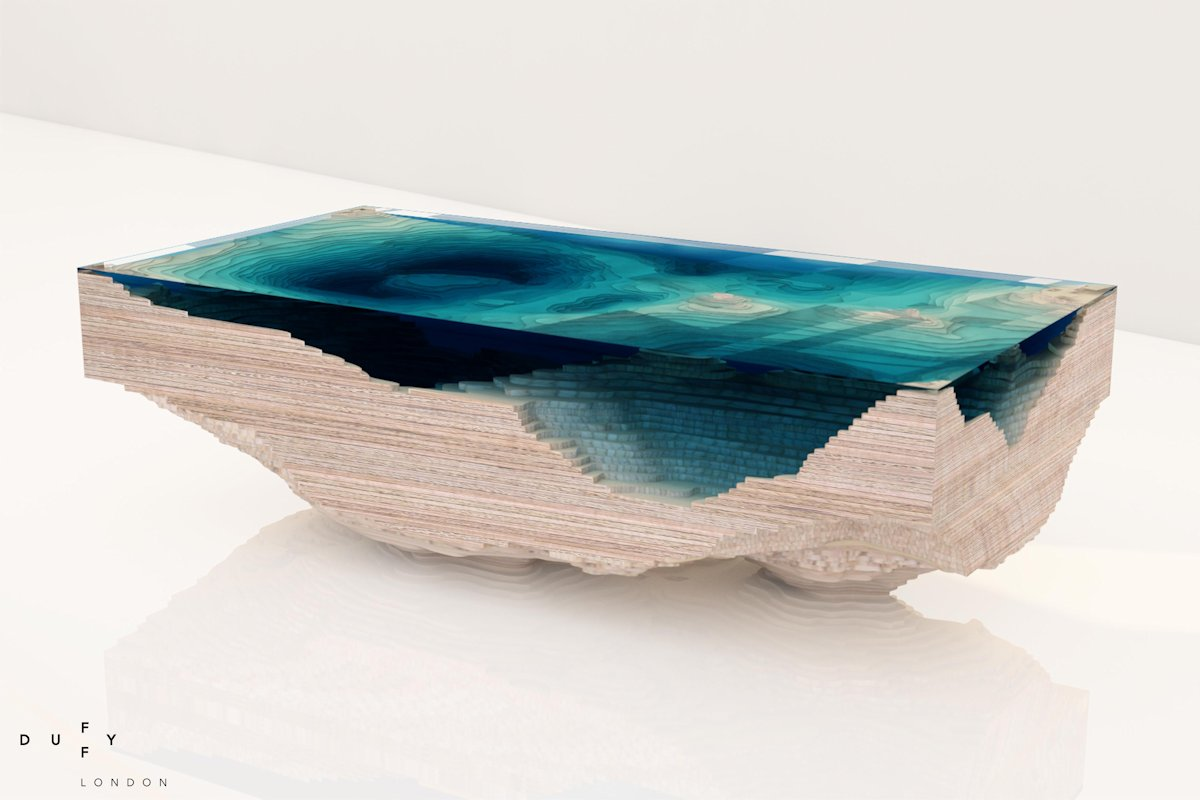 Abyss Table by Christopher Duffy
