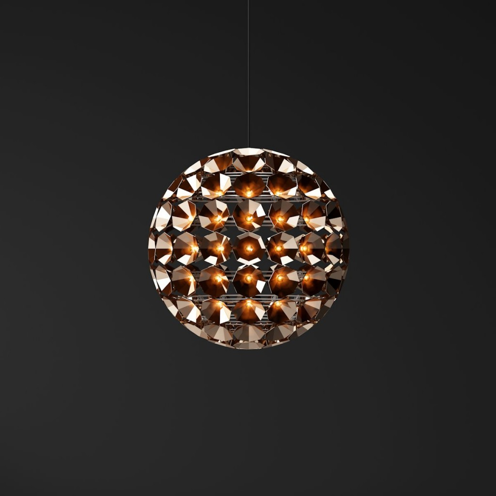 Ball-shaped Pendant Lamps