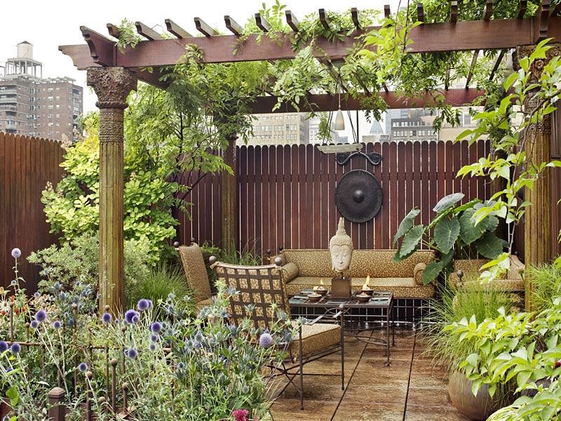 Roof Garden, Penthouse in Chelsea, New York City