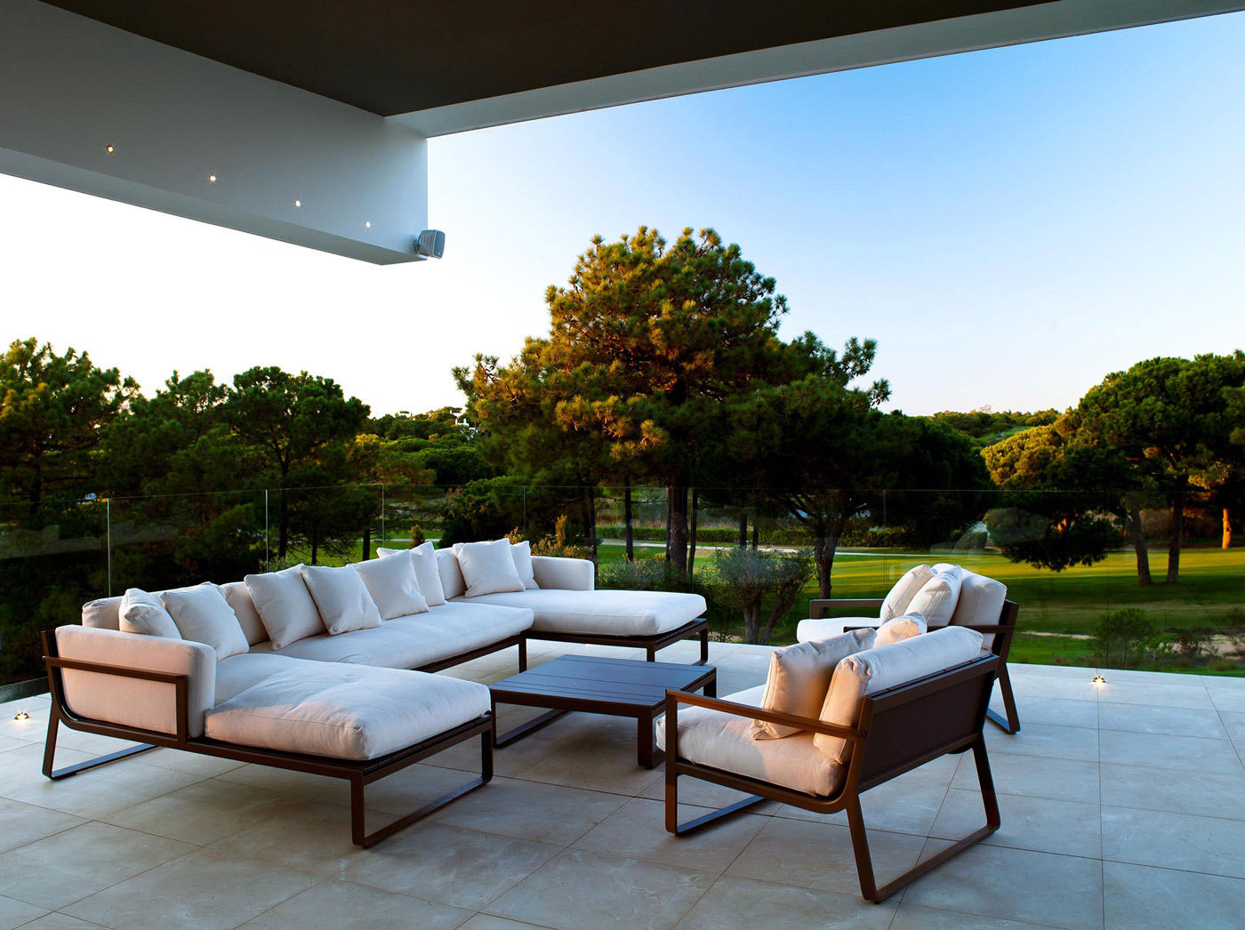 Terrace, Family House in Portugal