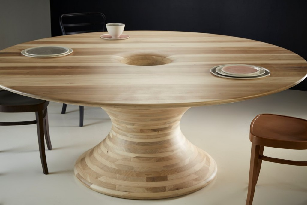 Tulipwood Sculptural Dining Table