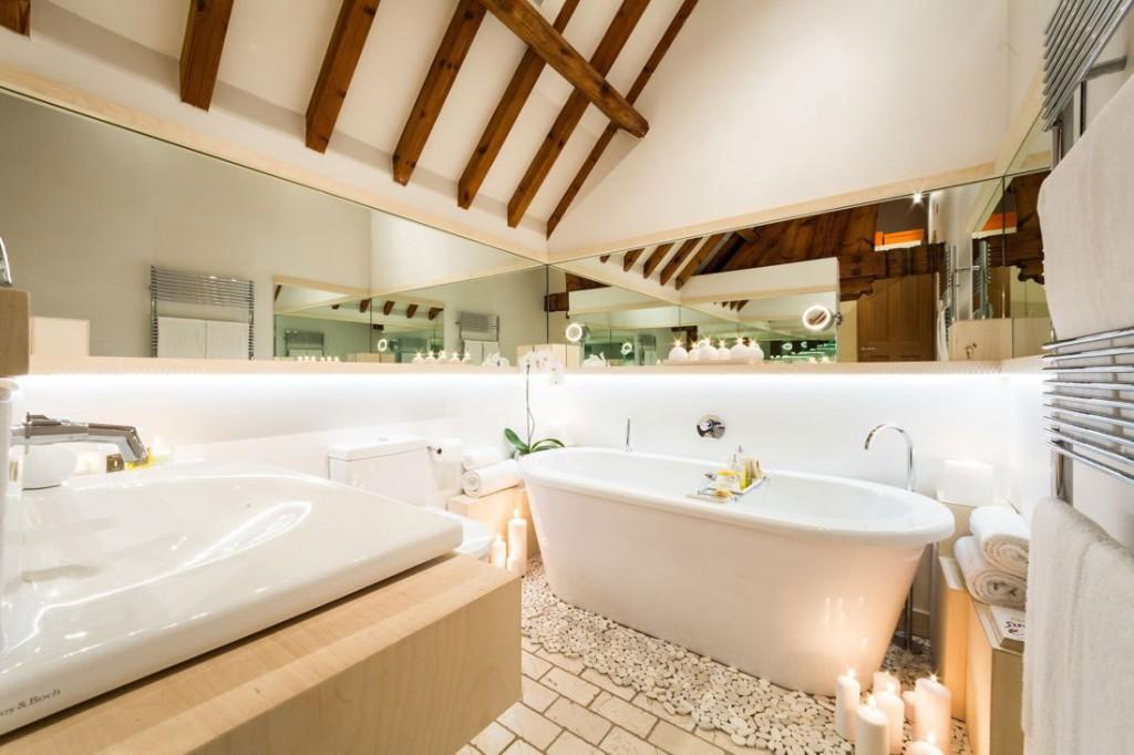 Bath, Sink, Bathroom, Church Conversion in London, England