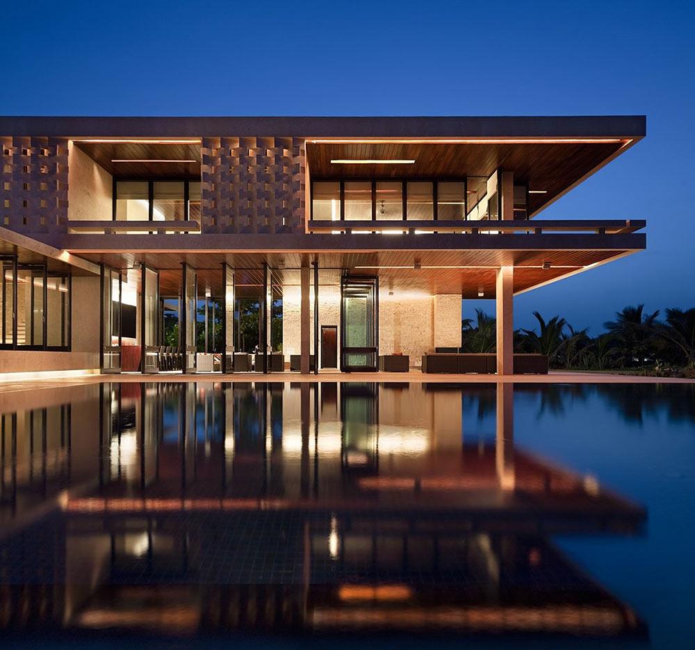 Casa-Kimball-Evening-Pool-Lights-1