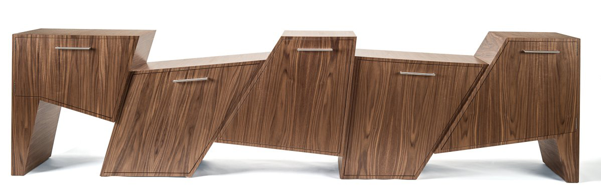 Coast Range Cabinet by Peter Pierobon