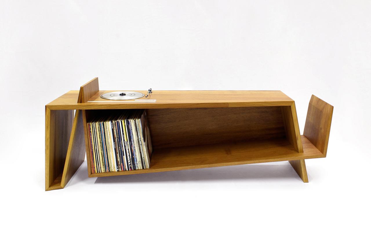 Folded Record Bureau by HM HandMade