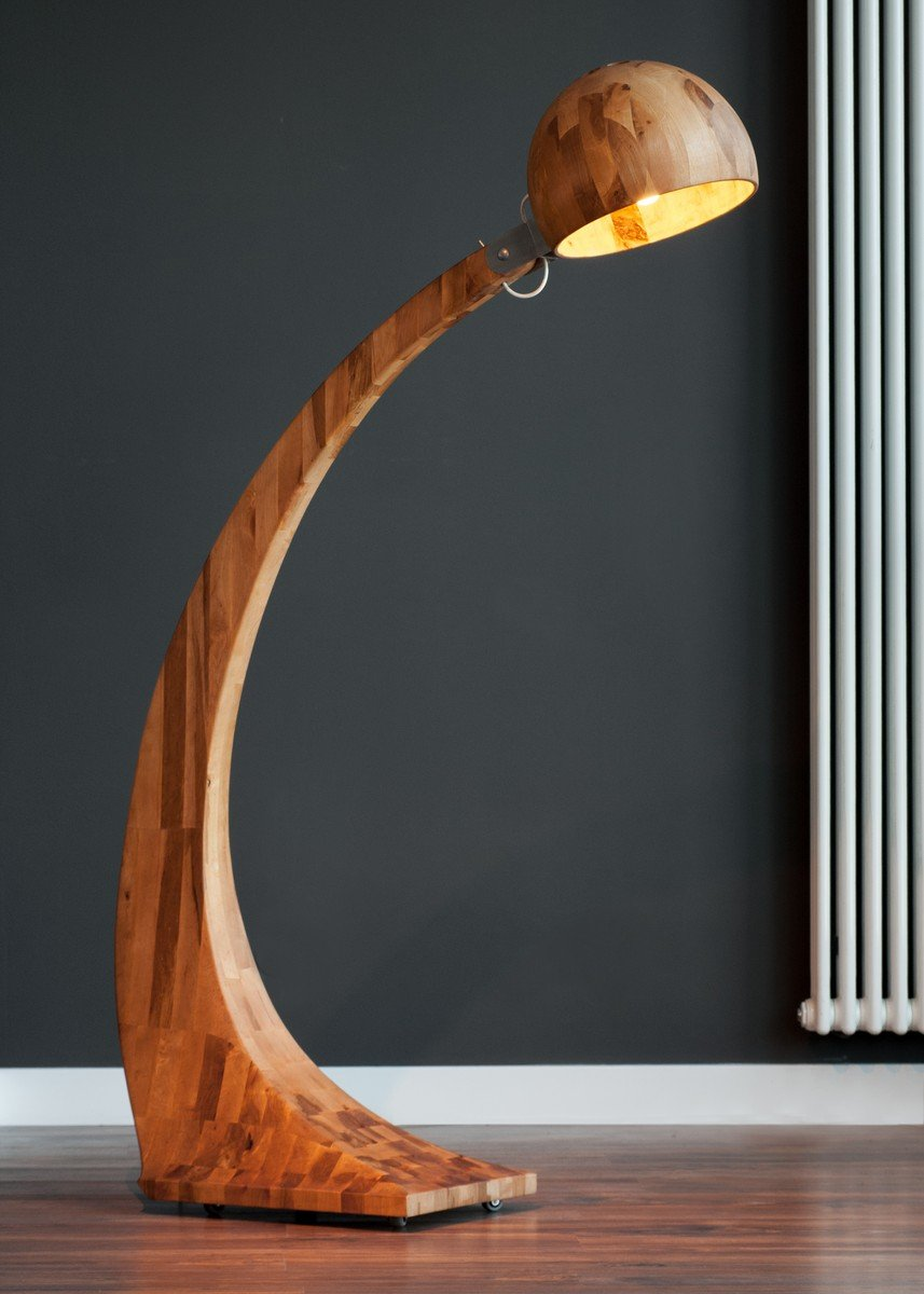 Woobia Wooden Floor Lamp | Home Inspiration