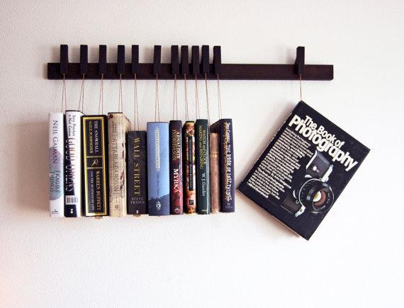 Custom Hanging Book Racks