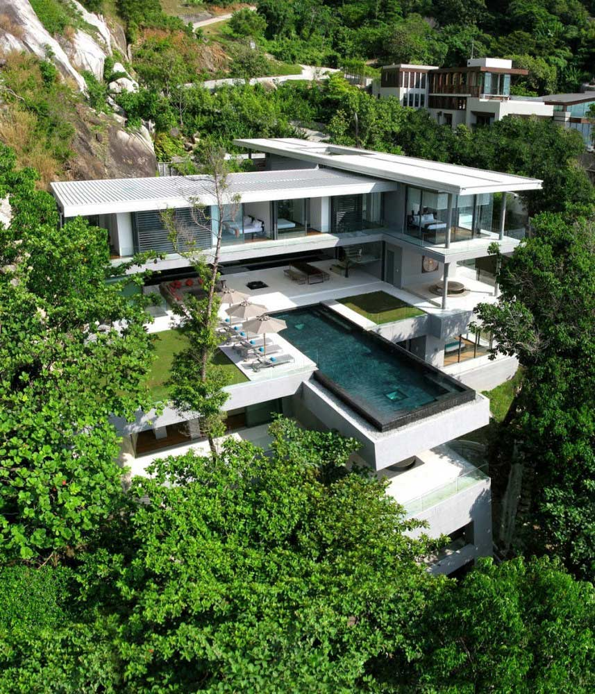 Stunning Villa Overlooking the Andaman Sea in Phuket, Thailand